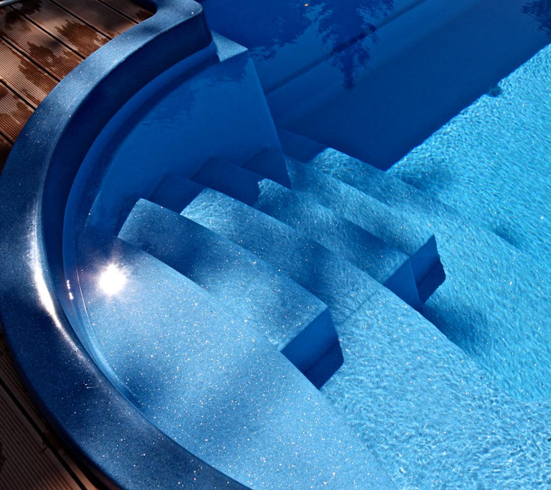Nautilus Aquarius 850 vstup do bazéna