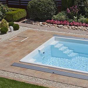 Sklokeramický bazén Nautilus