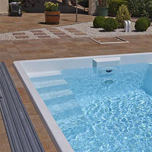 Sklokeramicky bazén Nautilus