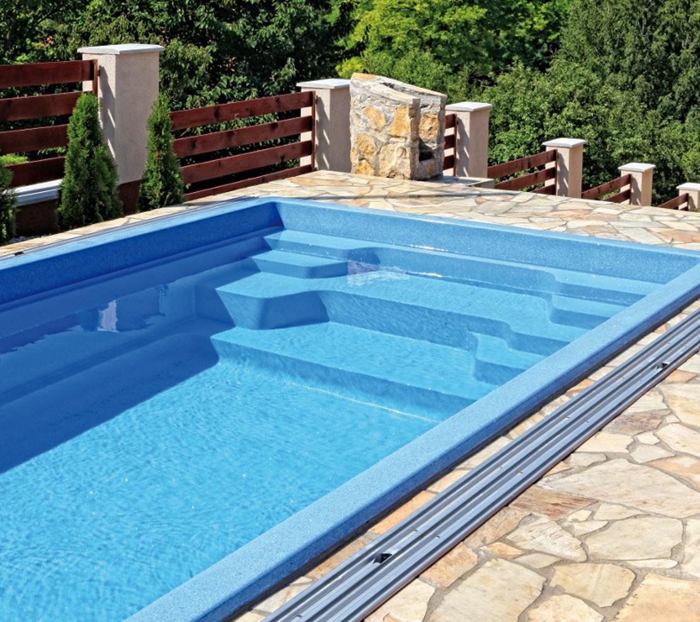 Nautilus Solaris 550C vstup do bazéna